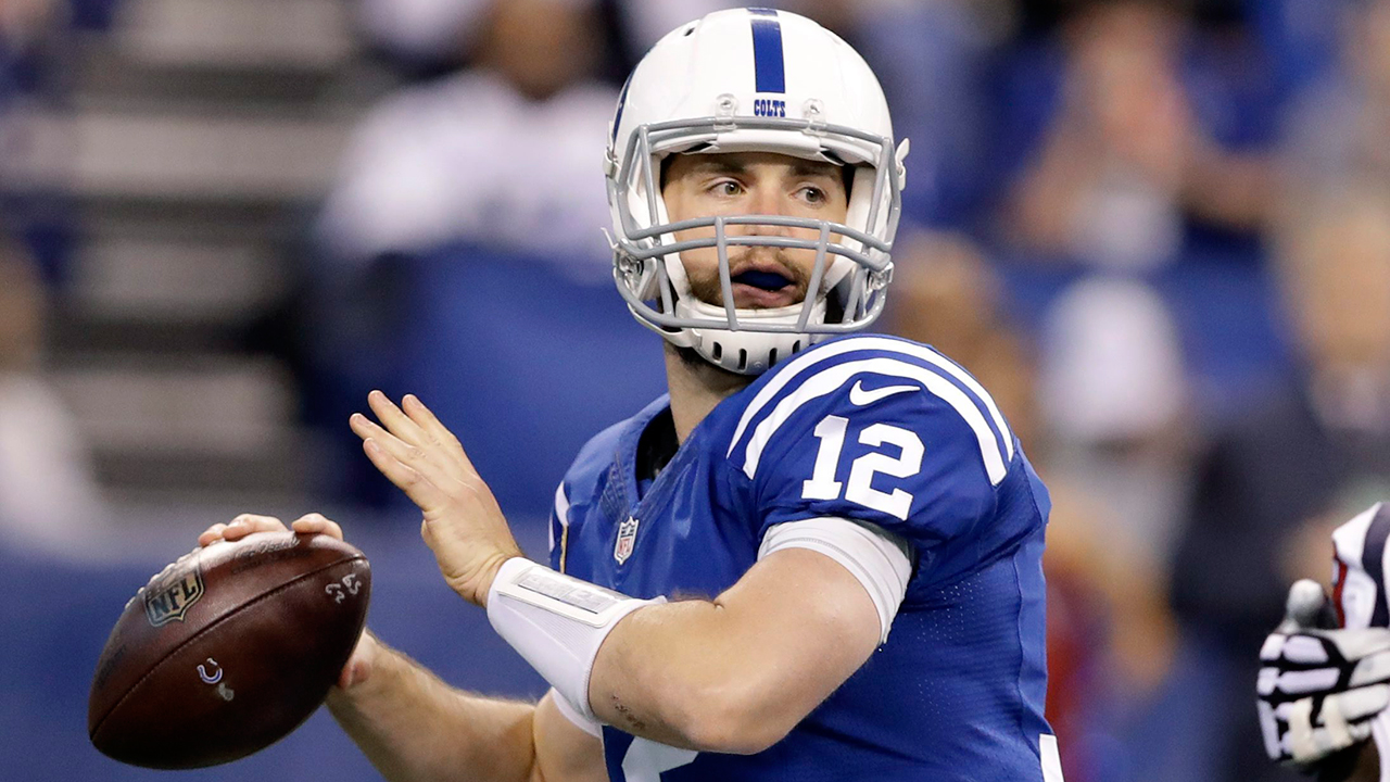 Andrew Luck still not cleared to practice, ruled out of Browns game