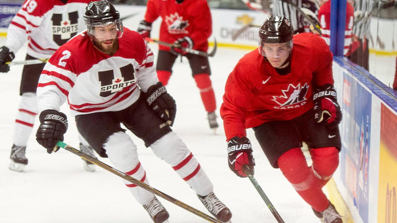 WJC: Steel Scores Twice As Canadian Juniors Defeat U Sports All-stars