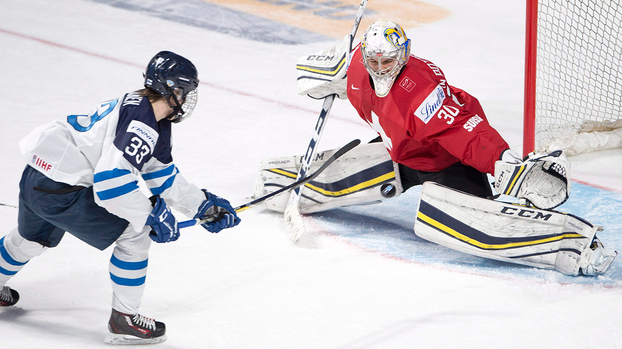 71e69bdb2 WJC  Finland Beats Switzerland In First Tournament Game After Coaching  Change