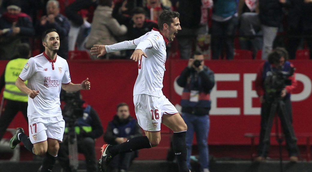 La Liga Score: Sevilla-Real Madrid 2-1