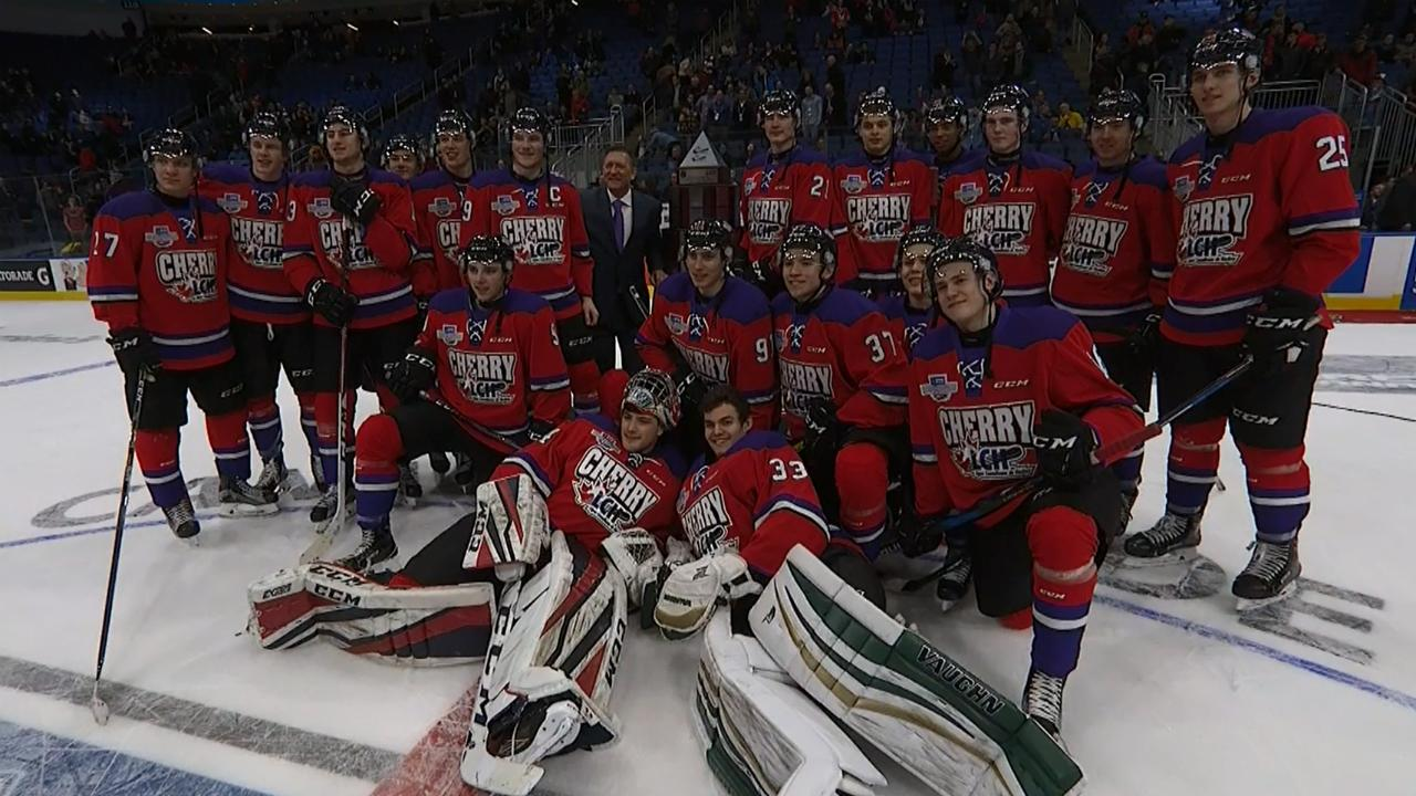CHL: Team Cherry Wins Their First Top Prospects Game Since 2010