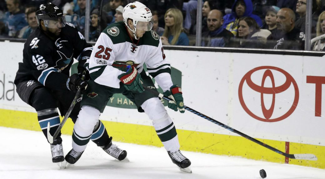 Wild s Jonas Brodin to miss a month with fractured finger - Sportsnet.ca d2777199e