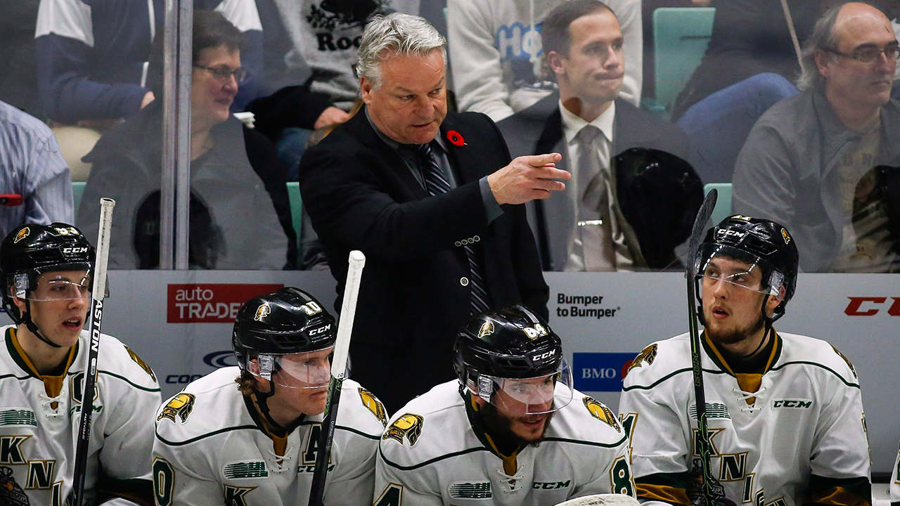 OHL: London Knights' Dale Hunter Coaches 1,000th League Game