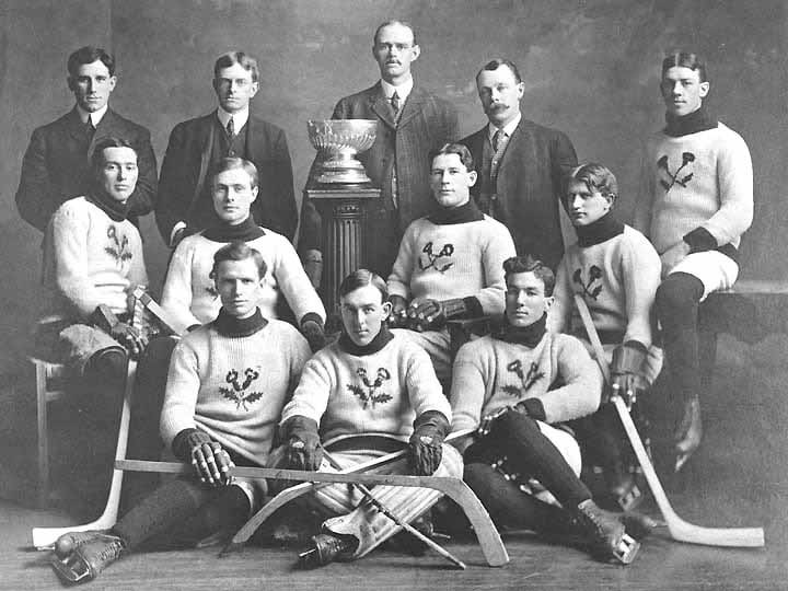 The Kenora Thistles won the Stanley Cup in January 1907, becoming the smallest community ever to do so. (Wikimedia Commons)
