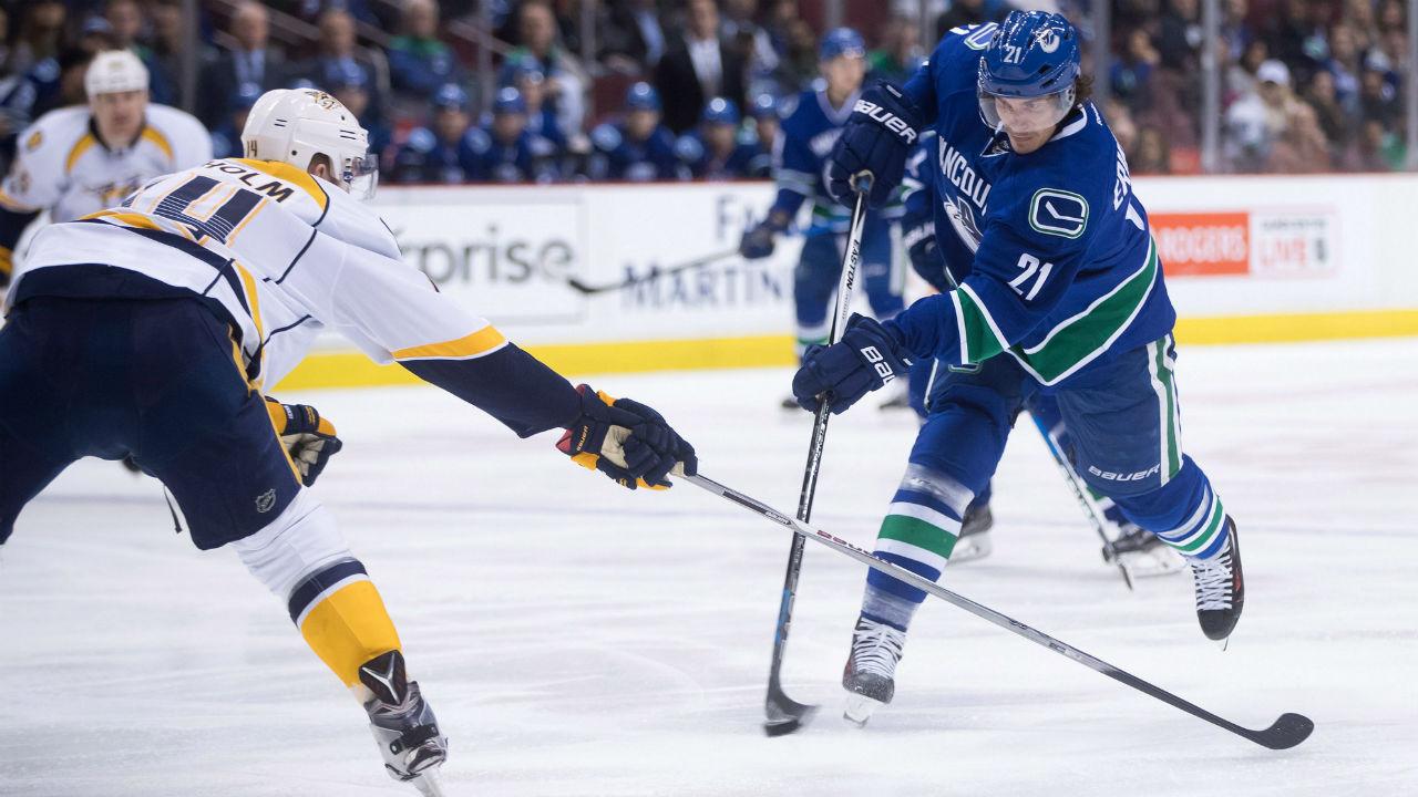 NHL Live Tacker: Predators at Canucks