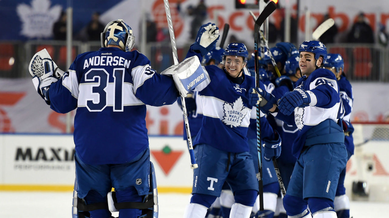 651045b2b Matthews' OT winner lifts Leafs over Red Wings in Centennial Classic -  Sportsnet.ca