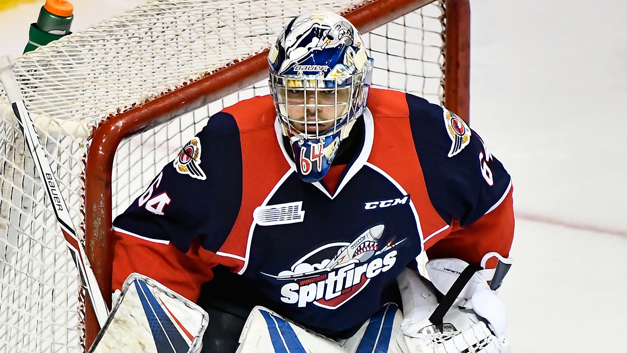 OHL: Roundup - Michael DiPietro Perfect As Spitfires Shut Out Spirit