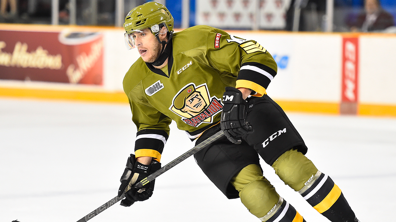 OHL: Roundup - Hargrave's Goal Lifts Battalion To Win Over 67's