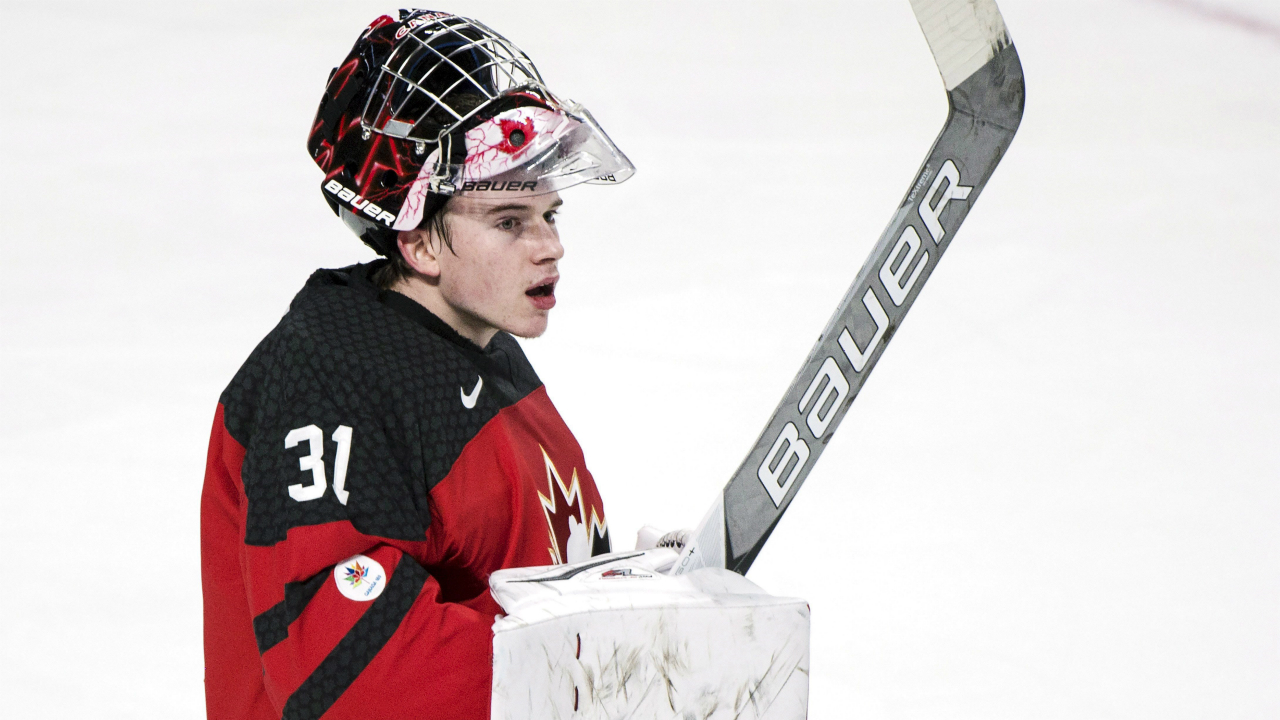 WJC: Carter Hart Turns In Perfect Night Coming Off The Bench