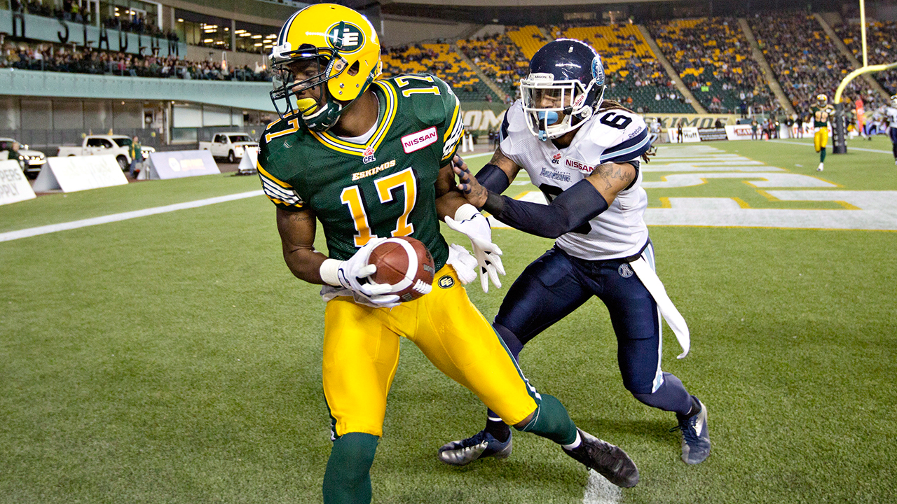Tiger-Cats acquire Canadian receiver Shamawd Chambers from Eskimos