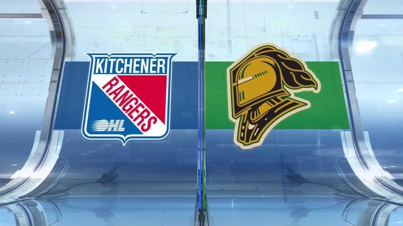 Knights clobber Rangers in OHL action - Sportsnet.ca