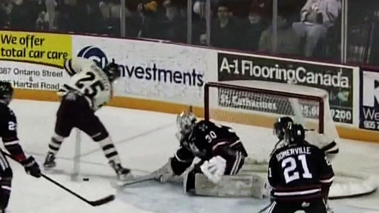 Maple Leafs Prospect Korostelev With Sick Between-the-legs Goal (video)