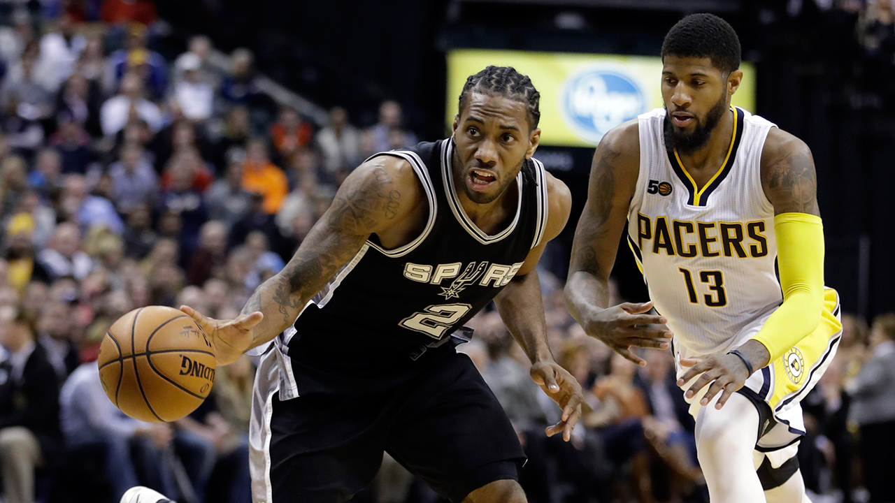 Spurs star Kawhi Leonard to miss Warriors game with concussion