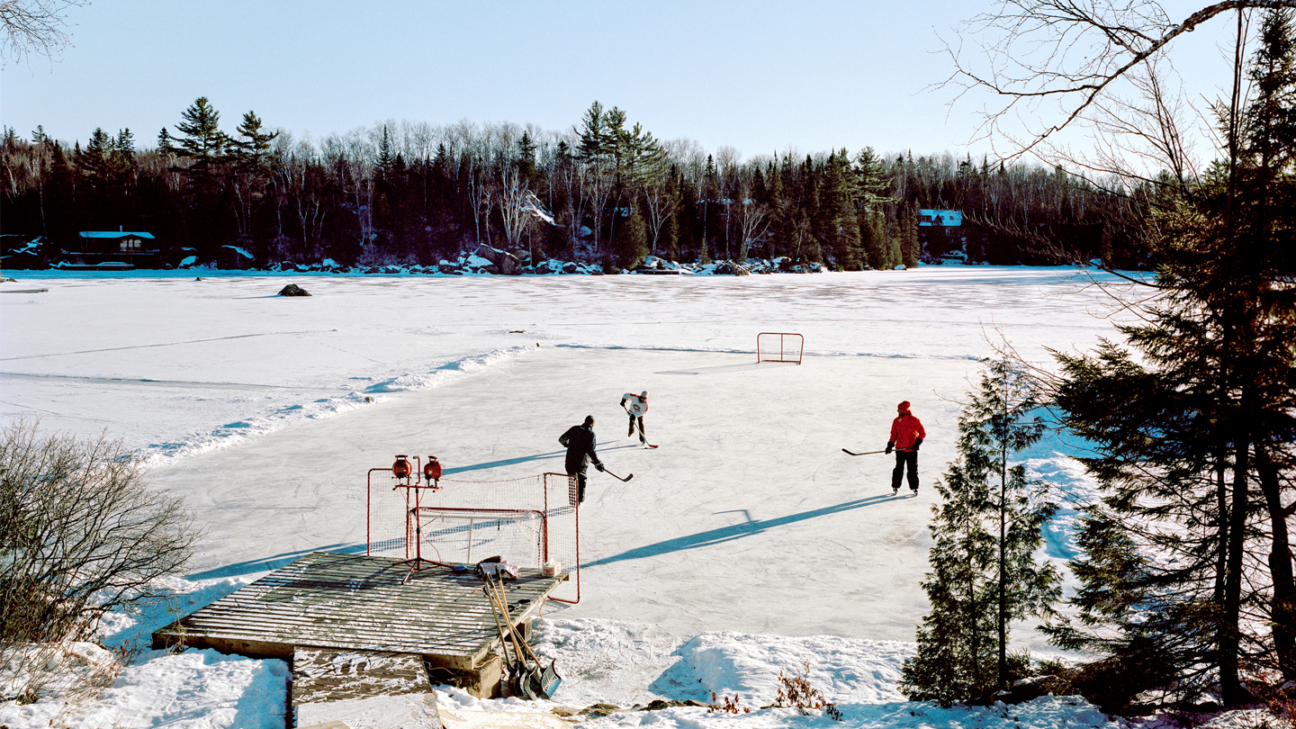 Photo Essay: Shinny in the Great White North