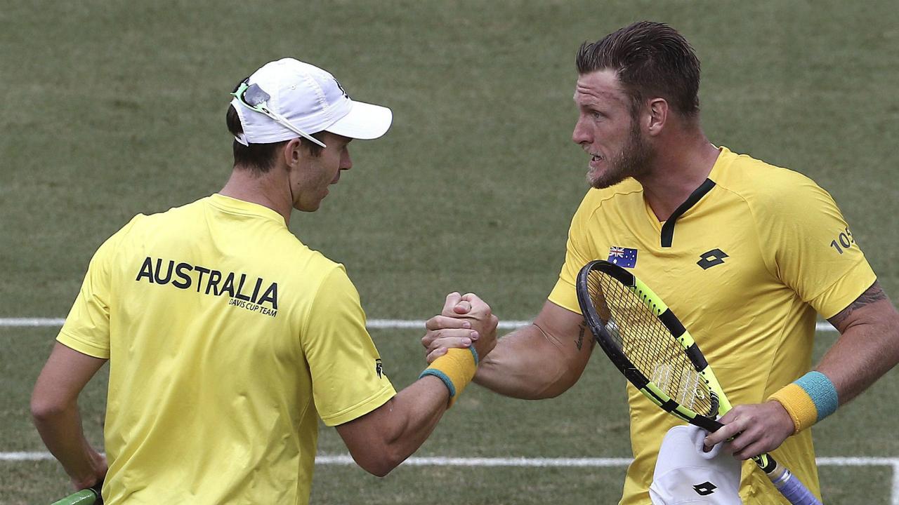 Usas scoreless draw vs serbia offers glimpse into arenas preferences foxsports com - Australia To Host Davis Cup