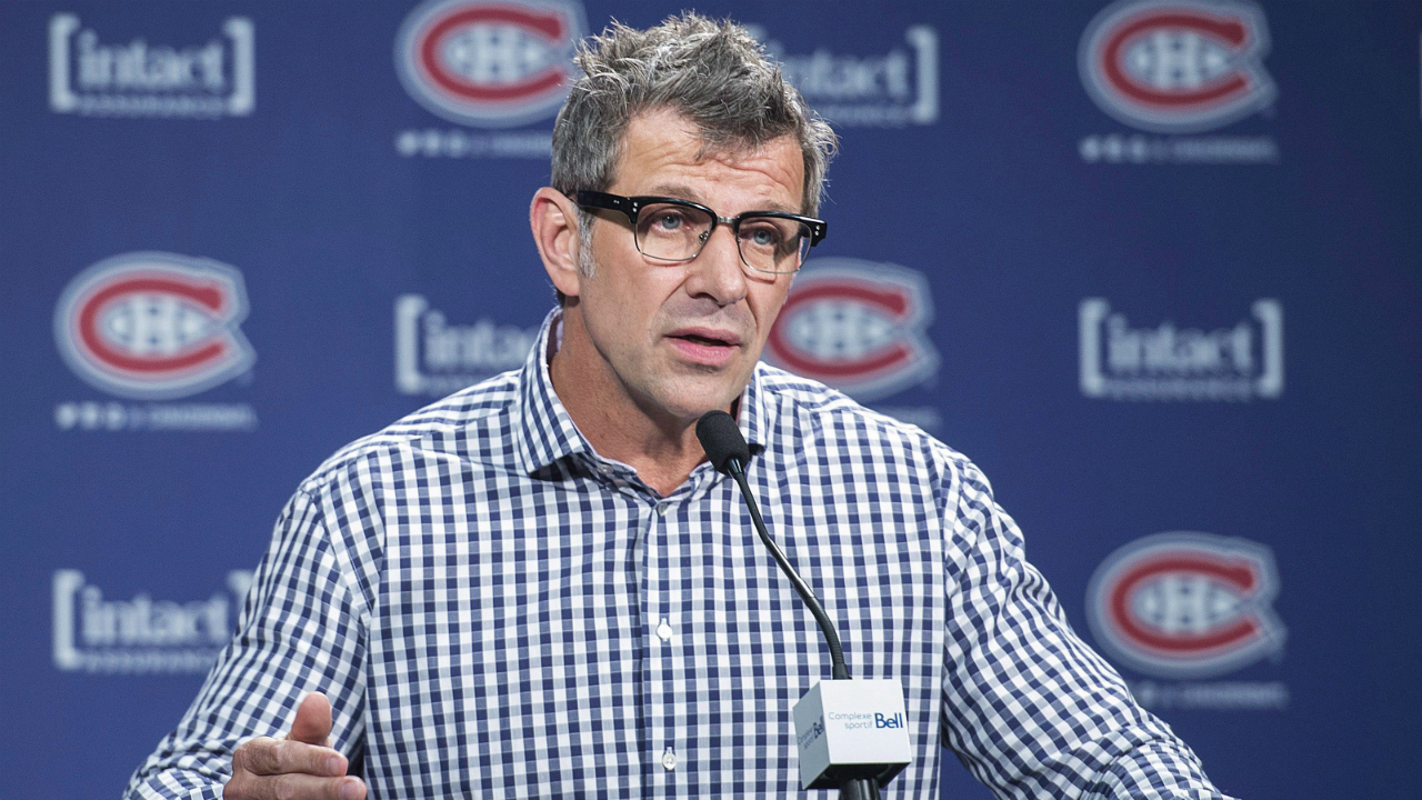 Canadiens' Marc Bergevin Leaves No Doubt He's All In On 2016-17