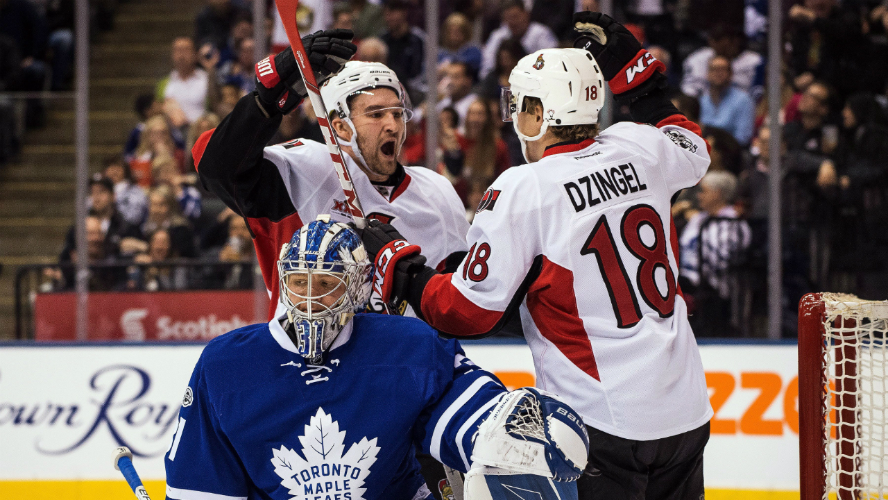 Senators eye division lead with win over Maple Leafs