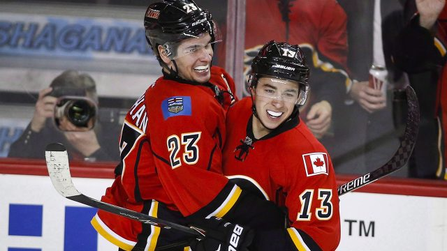 Flames Thoughts Jankowski Bennett Picking Up Steam For
