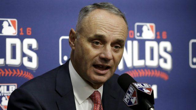 MLB upholds Strickland's six-game suspension for Harper brawl