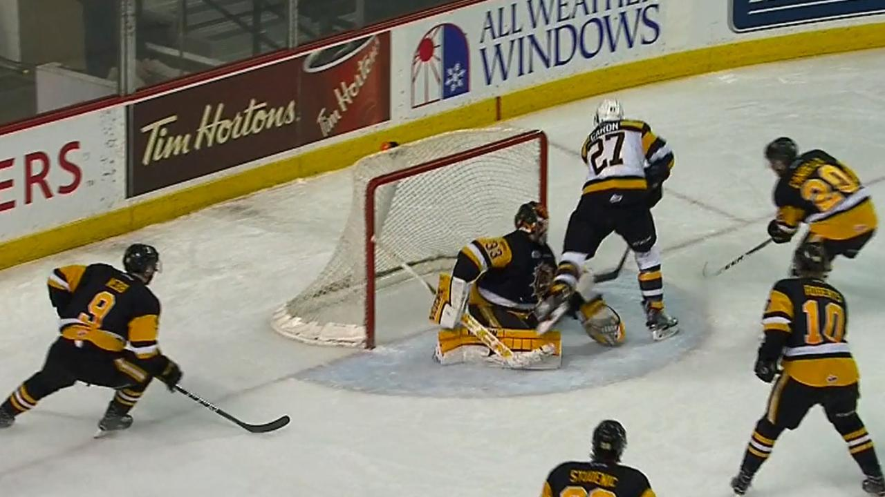 QMJHL: Caron's End-to-end Beauty