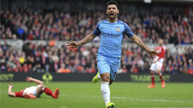 Manchester City Striker Sergio Aguero Injured In Car Crash