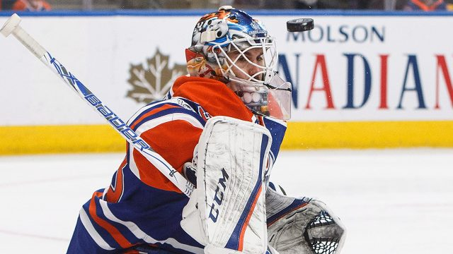 Talbot gets sixth shutout in Oilers win over Canucks
