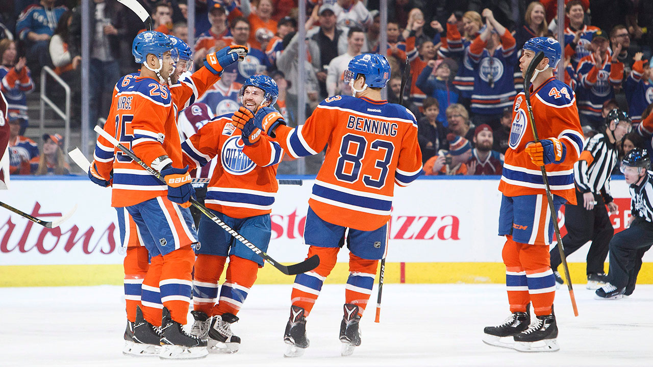 Oilers beat Avalanche to move into three-way tie for ...