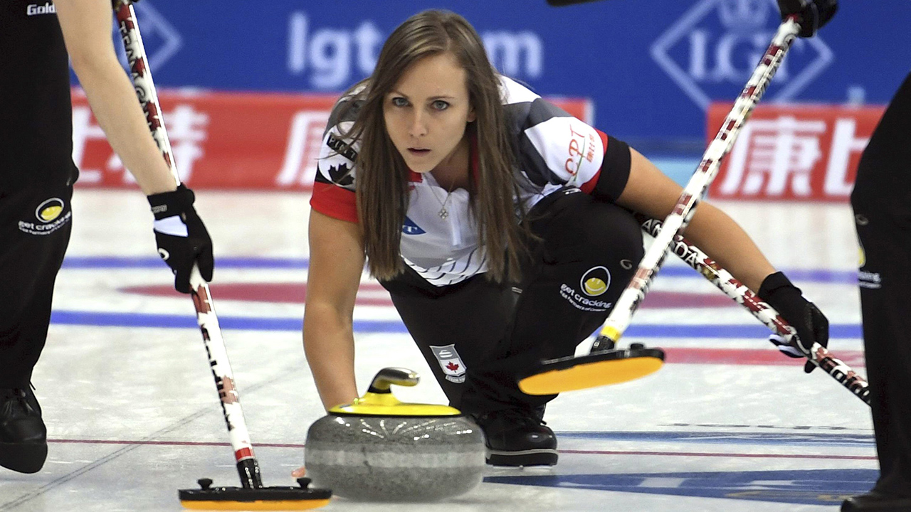 Sexy women of curling