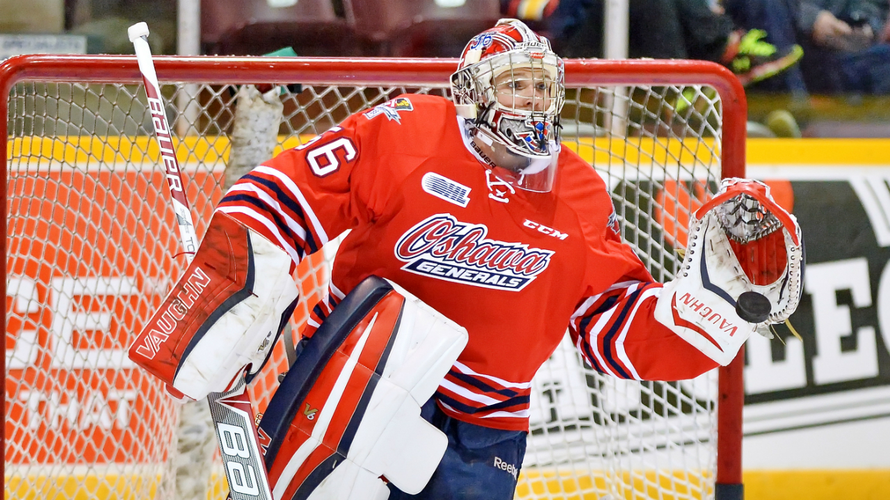 OHL: Son Of Martin Brodeur Having Big Year For Generals