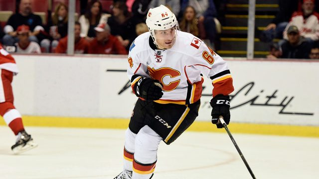 Flames' Gaudreau open to playing for hometown Flyers in future