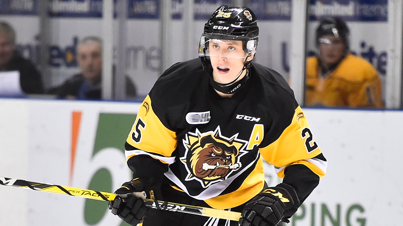 OHL: Roundup - Luff's 5-point Night Leads Bulldogs Past Petes