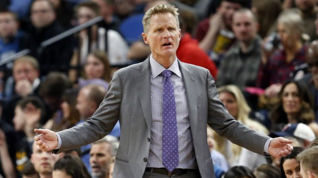 Steve Kerr won't coach Warriors in Game 4 vs. Trail Blazers