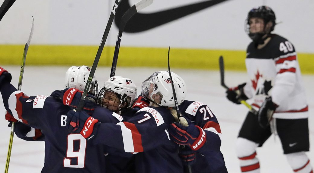 Us Beats Canada In Women S Hockey World Championship Sportsnet Ca
