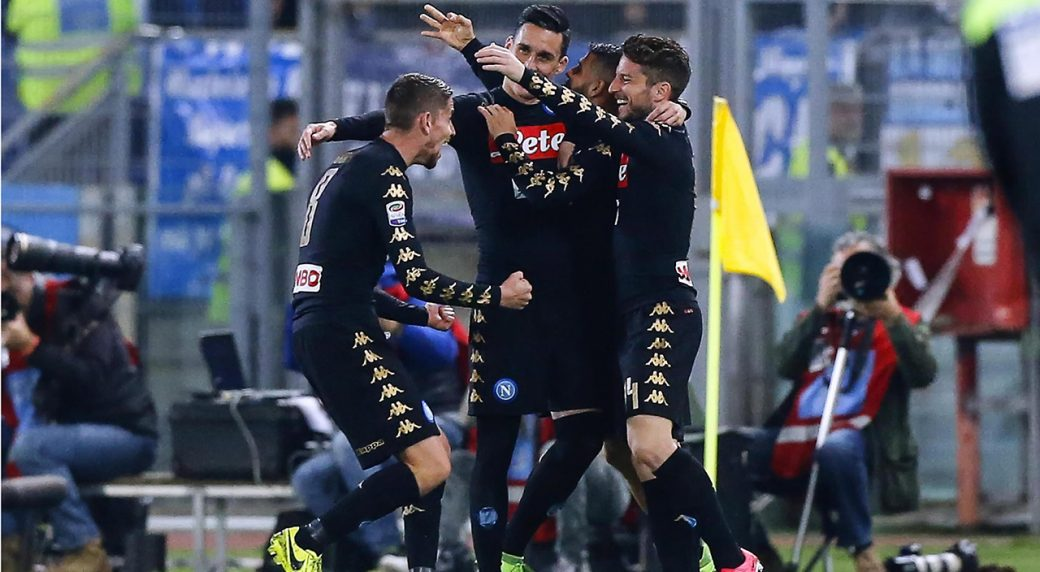 Napoli shuts out Lazio in battle for Champions League place ... d1f7f3d8b41b4