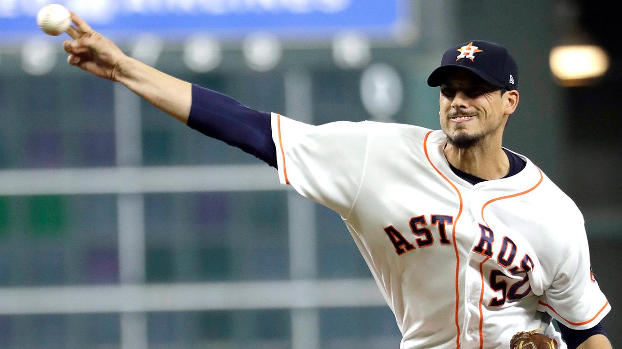 Gattis, Morton help Astros put bigger dent in Angels' playoff hopes