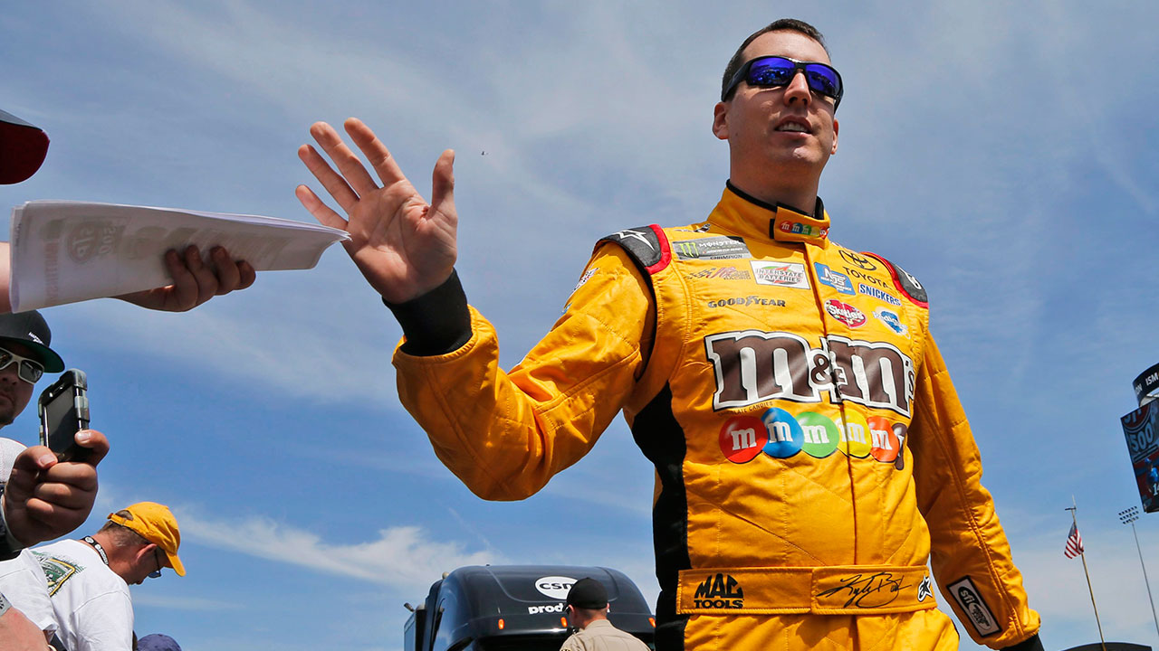 Kyle busch captures pole for cup race at dover - Pictures of kyle busch s car ...