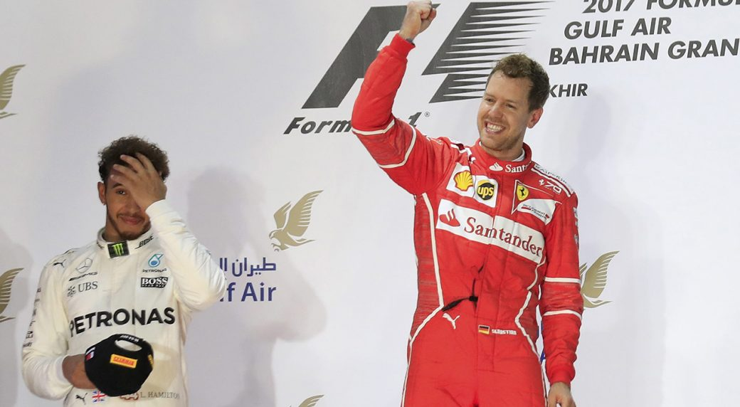 Sebastian Vettel wins Bahrain Grand Prix for Ferrari