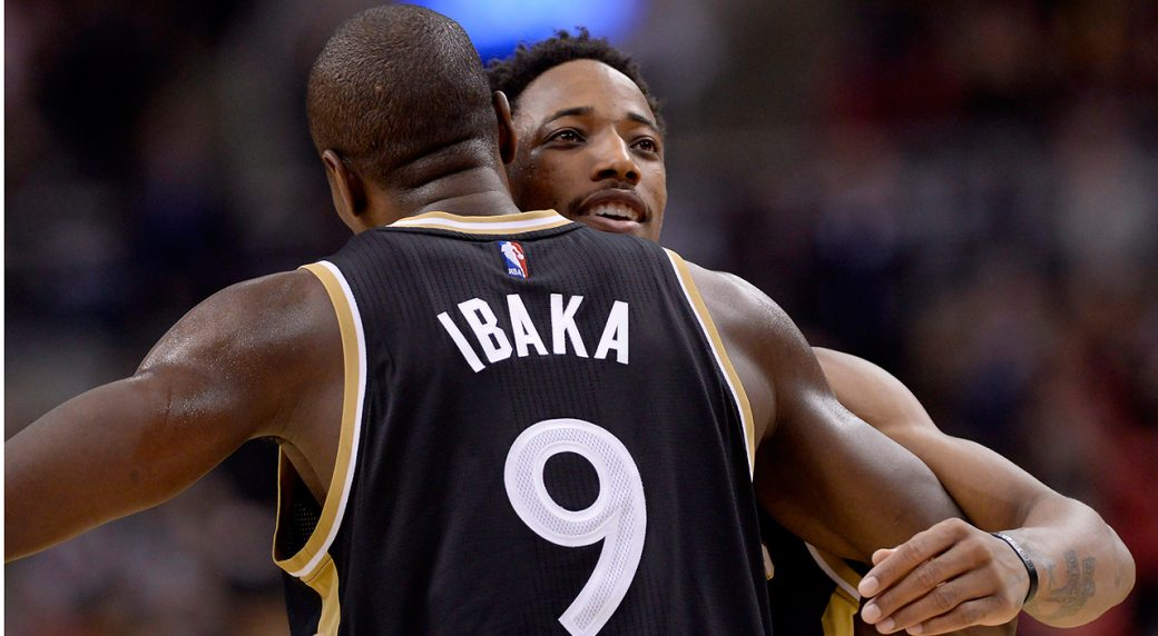 Raptors to be without DeMar DeRozan, Serge Ibaka for ...