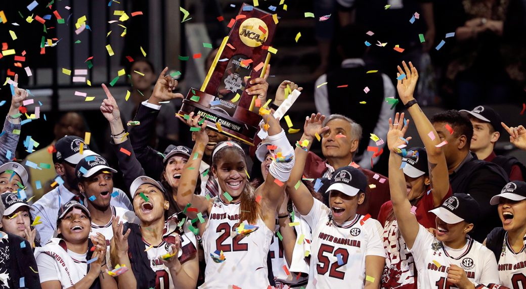 South Carolina wins first women's national basketball ...