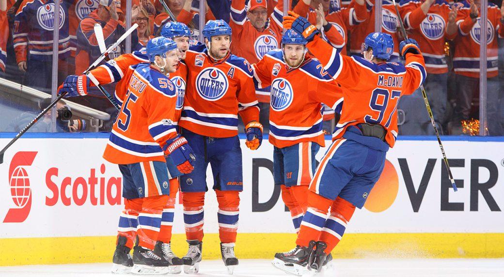 Edmonton Oilers   Draw Goes North Of