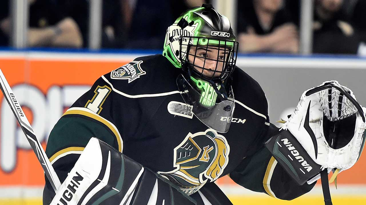 CHL: Notebook - Knights' Tyler Parsons Setting Bar For Goaltending