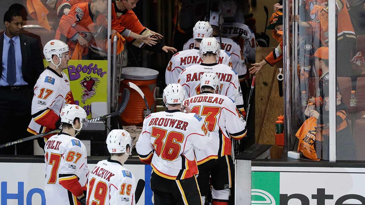 Round #1, Game #3: Anaheim Ducks vs. Calgary Flames