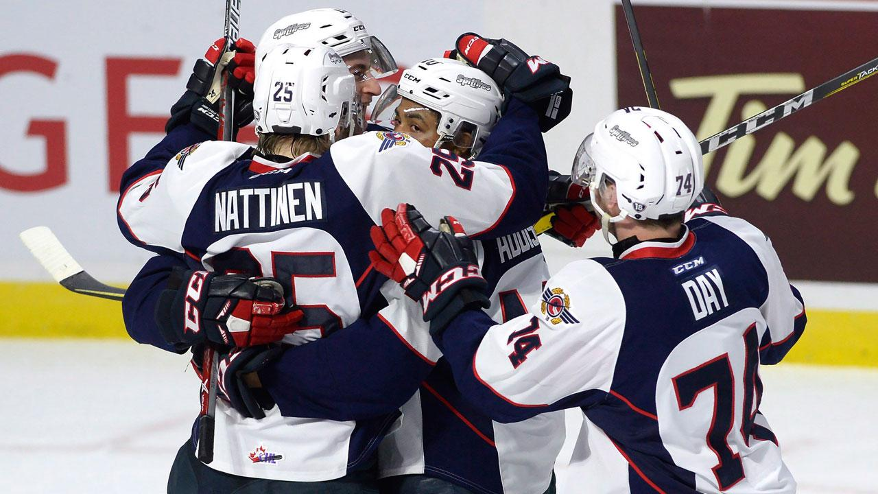 CHL: Addison's Hat Trick Send Spitfires To Memorial Cup Final