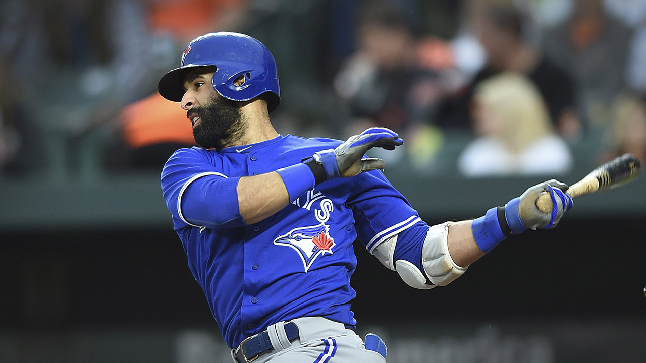 Jose Bautista ties Blue Jays' all-time single-season strikeout record