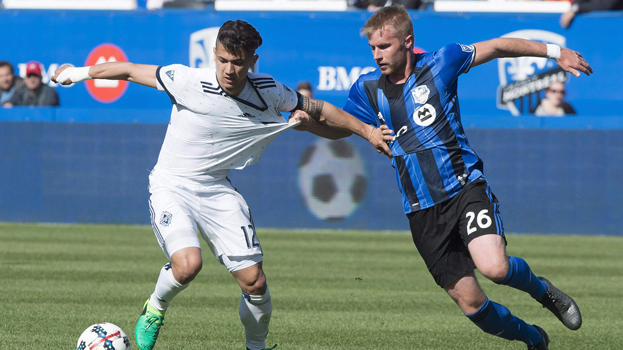 Whitecaps host Impact in 1st leg of Canadian Championship semifinal