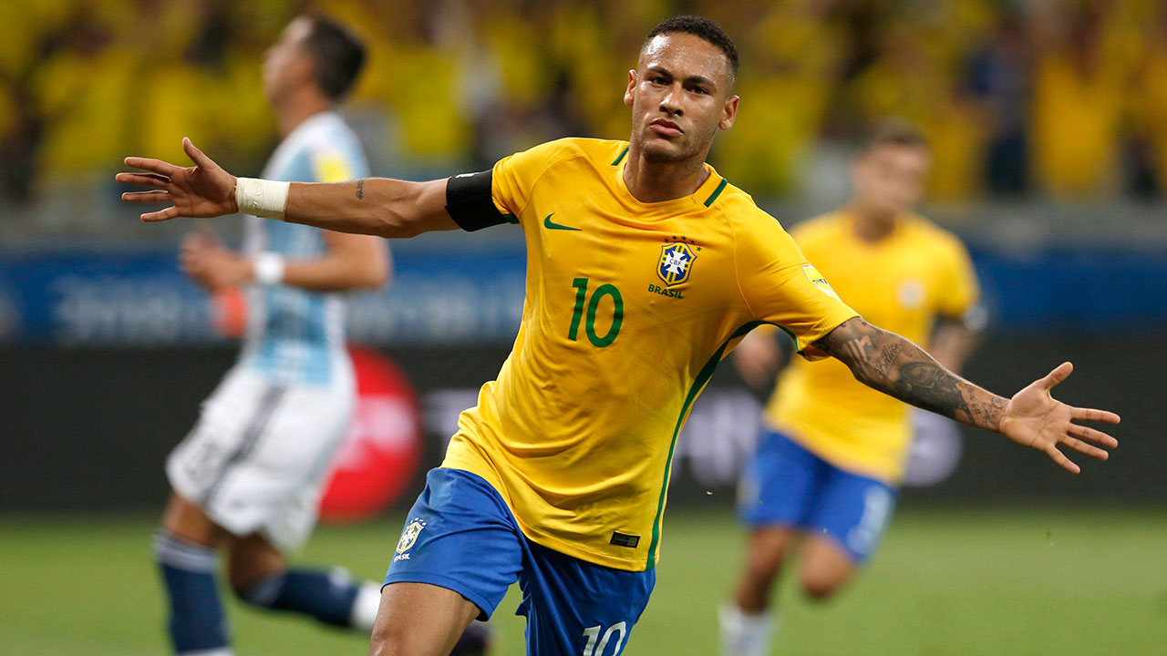 Brazil pulls level with Germany atop 2018 World Cup odds