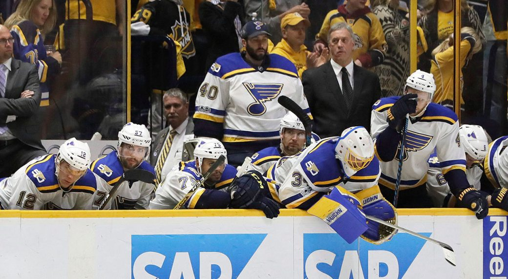St Louis Blues Shake Up Coaching Roster Part Ways With 4 Assistants