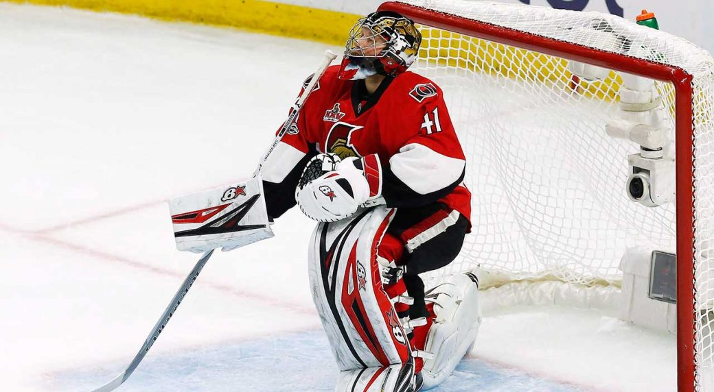 Sens G Anderson says his wife is cancer