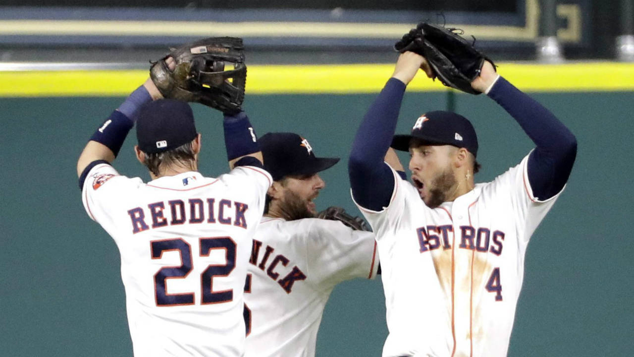 Astros-outfield