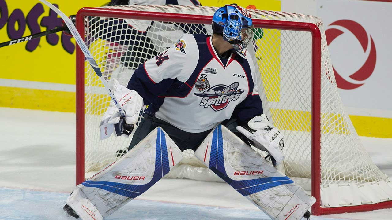 CHL: Spitfires' DiPietro Staying Even-keeled, Keeping Eye On Ultimate Goal